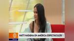 Natti Natasha ya está en Lima y así fue su primera entrevista | VIDEO - Noticias de lima 2019