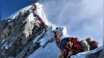 ¿Qué oscuro secreto oculta esta foto de la cima del monte Everest? - Noticias de montaña
