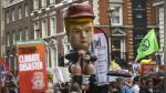 Fuertes protestas contra la visita de Donald Trump a Reino Unido | FOTOS - Noticias de theresa may
