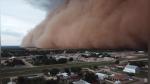 La impresionante tormenta de arena y polvo que 'devora' un pueblo en EE.UU. - Noticias de drone