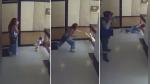 Madre salva a su hija de caer al vacío por el barandal de unas escaleras - Noticias de facebook viral