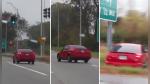 El karma castigó a un conductor y sus acompañantes que se burlaban de un accidente - Noticias de accidente de tránsito