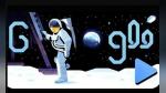 Google conmemora 50 años del primer alunizaje con doodle especial | VIDEO - Noticias de