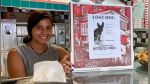 Pizzería usa sus cajas para un noble gesto y se gana la admiración en redes - Noticias de gato