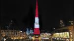El edificio más alto del mundo en Dubái se ilumina con los colores del Perú - Noticias de edificios más altos del mundo