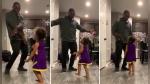 La cara de un padre cambia de feliz a horrorizado al ver bailar a su pequeña hija - Noticias de agua