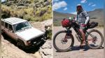 Anciano a punto de morir perdido en el desierto fue salvado por un ciclista - Noticias de jeans