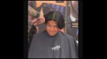 Joven se corta el cabello por primera vez en 15 años para enrolarse en el ejército - Noticias de historias