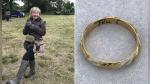 Encuentra un anillo que pudo pertenecer a William Shakespeare con un detector de metales - Noticias de museos