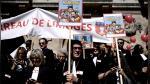 Francia: Miles de abogados protestan en París contra reforma de pensiones - Noticias de reforma de justicia