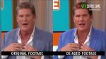 """El increíble """"rejuvenecimiento"""" de David Hasselhoff gracias a la tecnología deepfake - Noticias de televisión"""