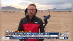 Informaba en directo sobre asalto al Área 51 y termina captando peculiar escena - Noticias de viral