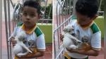 Niño es enviado por su mamá a comprar a la tienda y vuelve con un perrito - Noticias de video viral