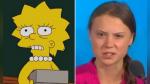 ¿Los Simpson predijeron a Greta Thunberg? Esta es la razón por la que creen que la serie lo hizo de nuevo - Noticias de cambio climatico