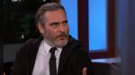 Joker: Joaquin Phoenix avergonzado por su comportamiento en detrás de cámaras - Noticias de jimmy kimmel live;