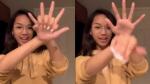 Así es como se hace el truco de las manos que es un furor en Tik Tok - Noticias de lg